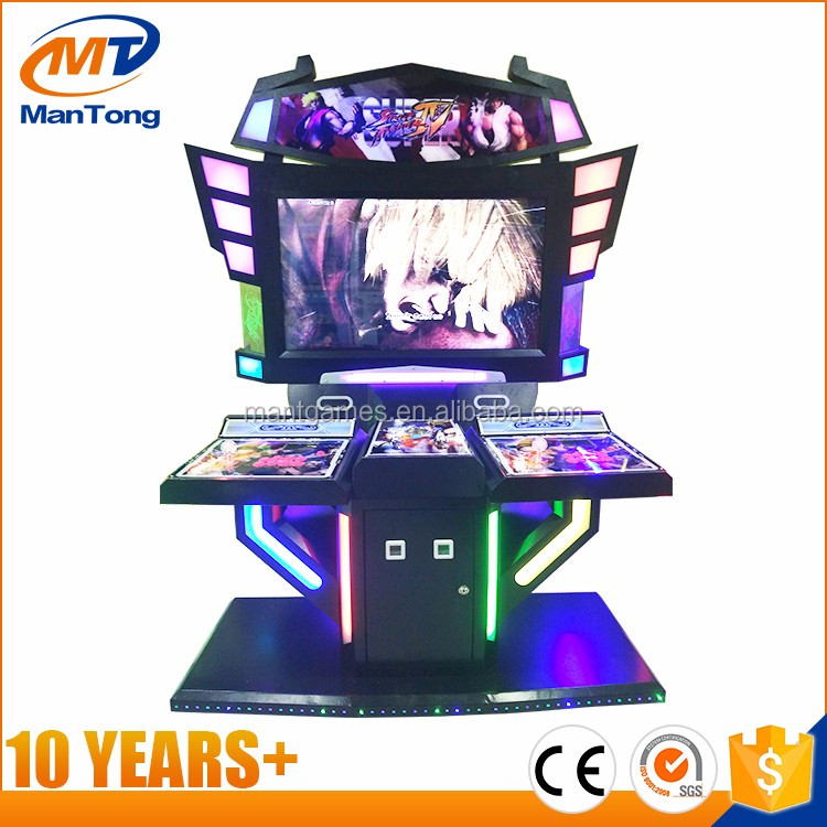 Sanwa joystick and button kit frame game machine / simulator fighting arcade redemption game machine for sale