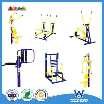 Metal sports facility powder coating