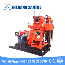 Wheels mounted small rotary Water well drilling rig for Nigeria market