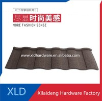 stone coated metal roofing tile zinc solar roof tiles