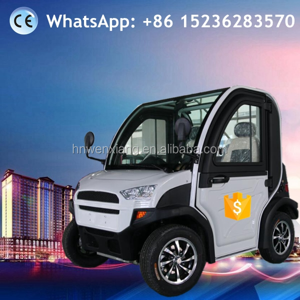 China CE EEC Approved Electric Vehicle Manufacturer Smart Electric Mini Car with 2 seaters / 4 Wheel Two/2 Seats for sale