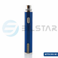 2015 new product Bilstar 5pin usb passthrough LED battery 650mah Myoung ego battery wholesale ego ce4