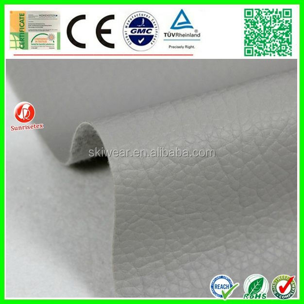 factory stock high quality leather car seat fabric