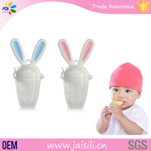 Safe Rabbit Fruit and Food Silicone Feeding Nipples Baby Feeder Baby Products