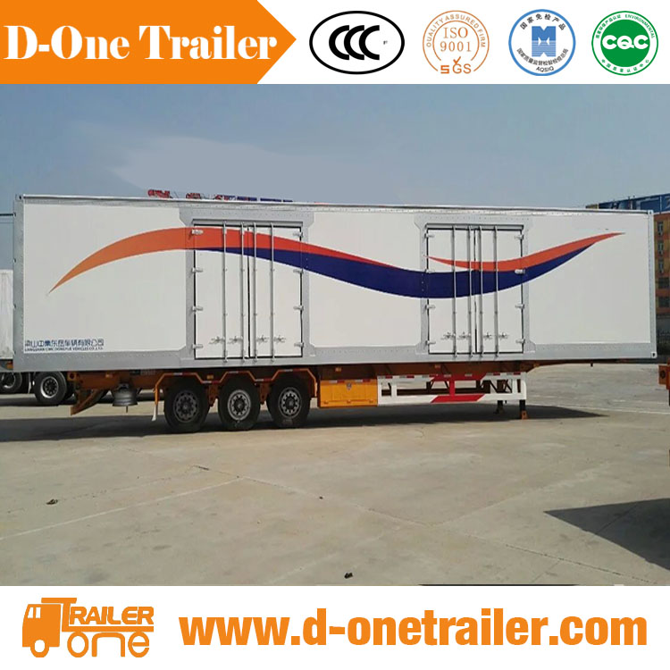 international trade logistic china dry van cargo trailer 20315