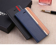 Hight quality new products 360 rotating wallet leather phone case with card slot for Samsung N7100