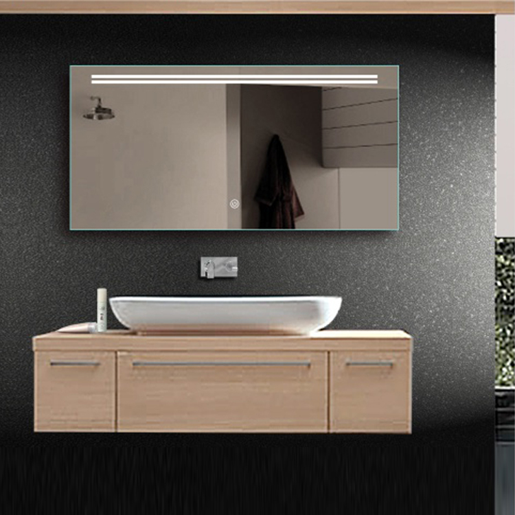 Frameless G6016 LED Lighted Waterproof Bathroom Smart Mirror TV with Light