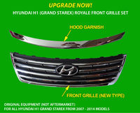 New Front Grille for H1 Royale (Grand Starex)