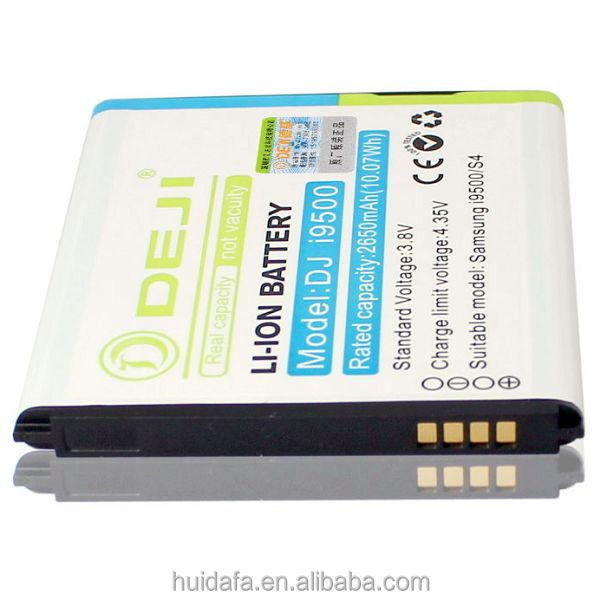 2015 2600mAh baterias for Samsung Galaxy S4 I9500 backup cell phone battery