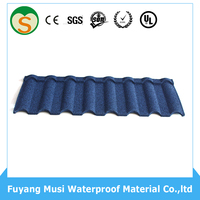 2016 8 waves classic rustic stone chip roof tiles cheap roof tiles