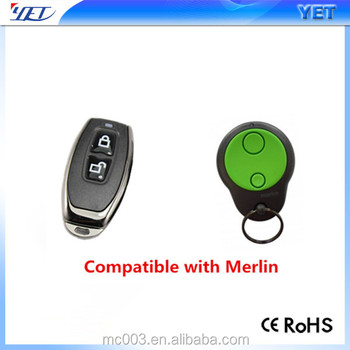 gate keyfob replace merlin remote control