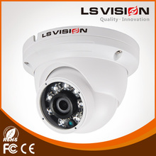 LS Vision cheap outdoor 2.0 mp cmos, hd 1080p ip dome security poe camera,2.0 mp cmos hd wdr network dome ip security webcamera