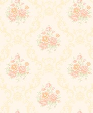 yellow flower decorative living room designs walls decor pvc vinyl wallpaper
