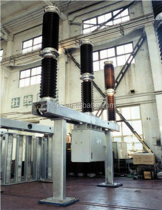 High voltage outdoor type 132kv sf6 circuit breaker