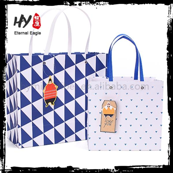 Brand new paper tote bag for wholesales