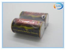 2014 wholesale Trustfire 18350 3.7v 1200mah battery used for flashlight ,torch