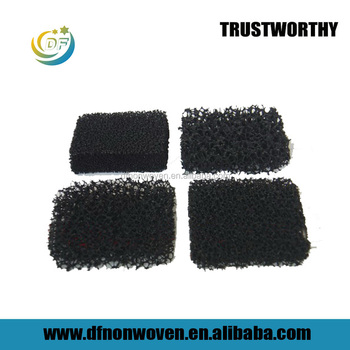 China factory fast delivery activated carbon filtration foam sponge air filter pad for cooker hoods PPI air filter foam