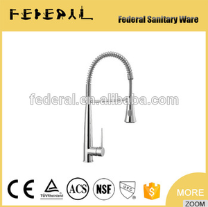 Chrome Commercial Style Kitchen Faucet with Pot Filler
