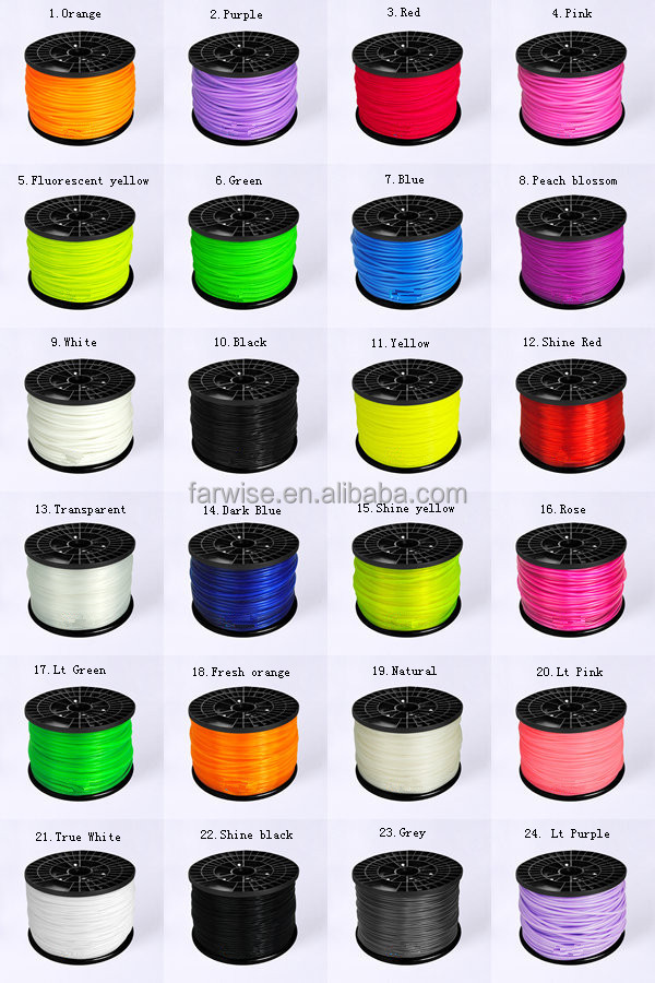 3D Printer Filament Makerbot Plastic Material ABS PLA China Manufacturer