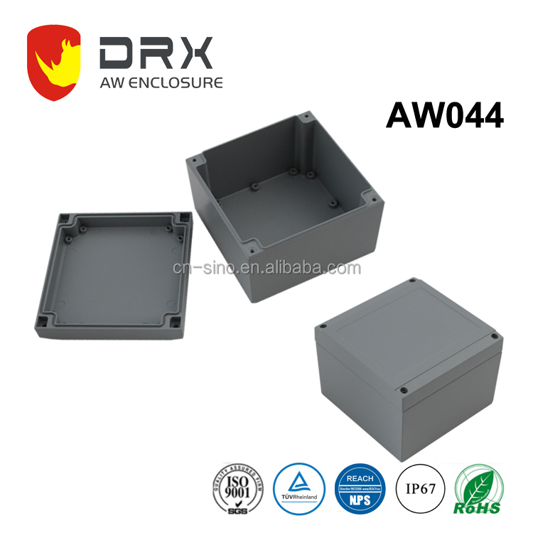 Ip67 Standard Die Cast Aluminum Waterproof Enclosure for Electronics Outdoor Box power distribution box