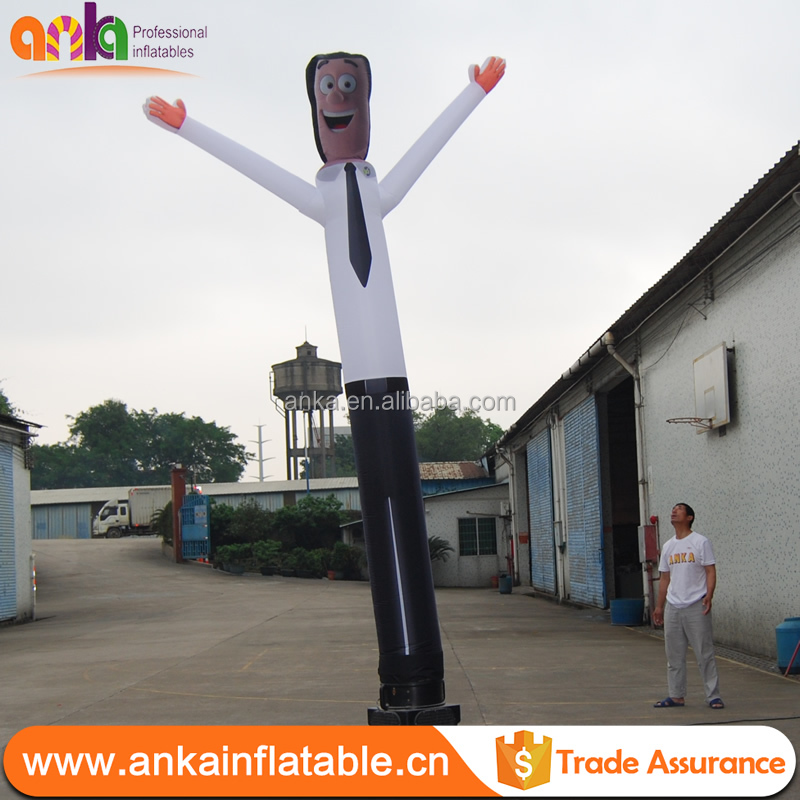 New Design colorful blow up advertising man/inflatable air dancer with reasonable price