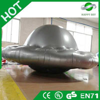 Customized UFO shaped balloon helium,inflatable helium square balloon,UFO helium balloon for sale