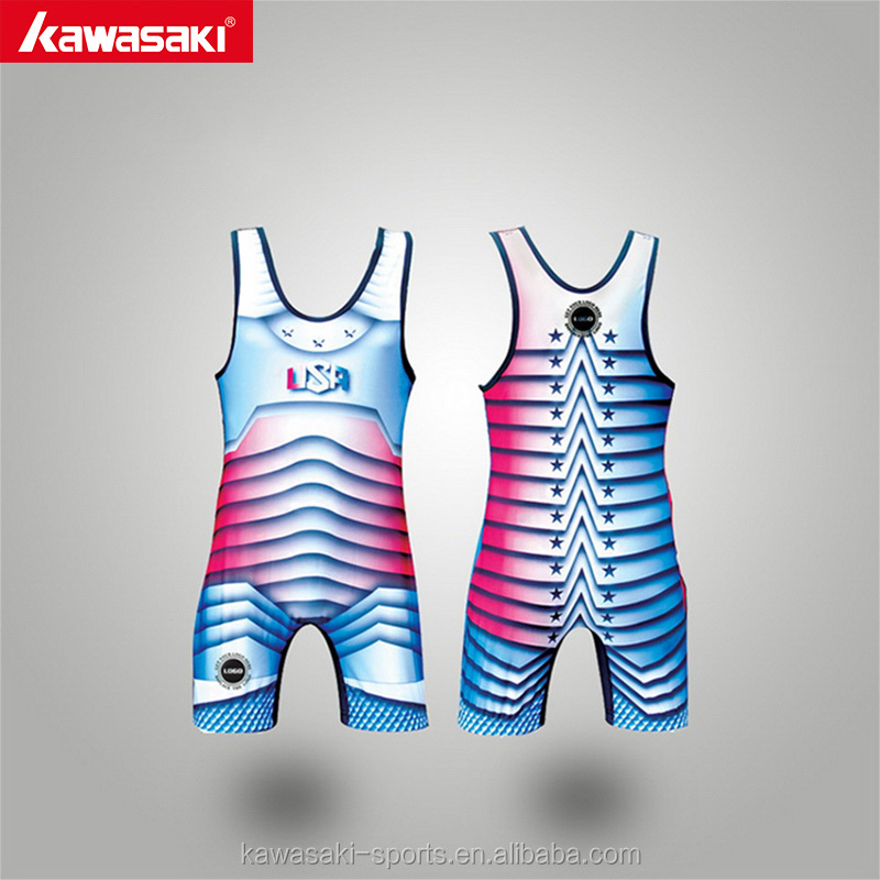 Hot sale wrestling wear product colored women wrestling singlet