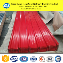 Prepainted GI metal roofing corrugated galvanizing steel sheet