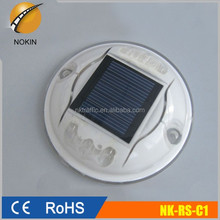 factory wholesale traffic safety IP68 flashing solar cat eyes reflective led road stud pavement lighting