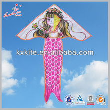 Single Line mermaid kite for kids