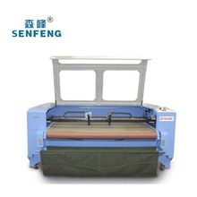 Textile cutting machine/Auto feeding leather laser cutting machine and CCD is optional SF-1610 with Auto-feeding