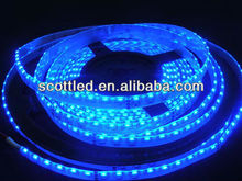 blue led flexible strip 335 side view lighting ,120leds/m dc 12v