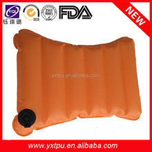 TPU inflatable backrest pillow