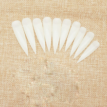 Wholesale Acrylic Artificial Free False Nails Full Cover Plain Artificial Nails In Low Price