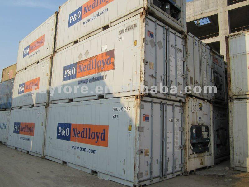 Carrier/Daikin/Thermo king used reefer container