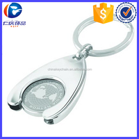 Hot Promotional Horseshoe Trolley Coin Key fob