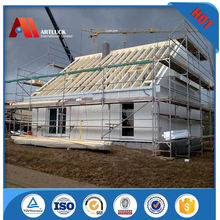 mobile recycled modular prefab house steel frame