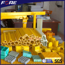 FRP Profiles,density of frp material,High impact fiberglass square tube round tube for construction