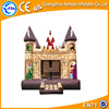 Castle cartoon style bounce house, high quality bouncy castle/inflatable bouncer