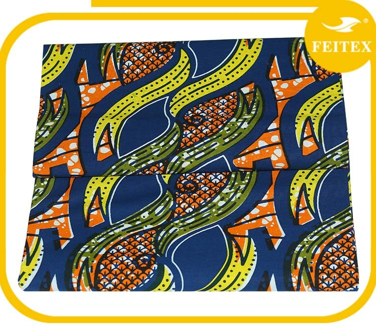 Import Export Popular African Wax Fabrics Wholesale Java Africa Print Embroidery Fabric
