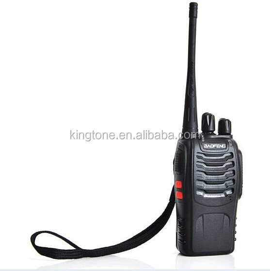 FS! BaoFeng BF-888S Walkie Talkie FM Transceiver 5W 16CH UHF 400-470MHz Dual Band Interphone Two Way Radio with Free earphone
