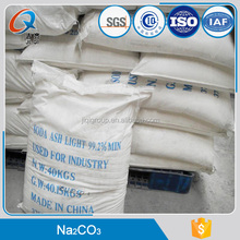 Soda ash light 99.2% / sodium carbonate / 99.2% soda ash dense (NA2CO3)