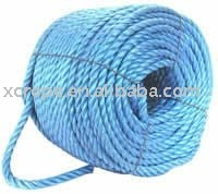 "Polypropylene rope - 18mm 23/32"" Inch Dia Blue"