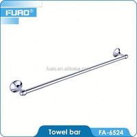 FUAO Exquisite craftsmanship brass 30 inch towel bar