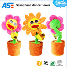 Best promotional products creative Saxophone music dancing flowers