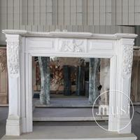 luxury home decoration roman style fireplace modern