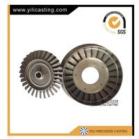 axial turbine disc air compressor wheel turbine nozzle assembly jet engine parts