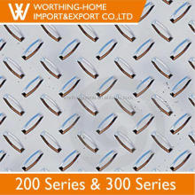 Export Quality 304 201 Stainless Steel Checkered Plate for Floor