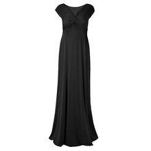 Wholesale sexy long plus size evening dress for pregnant women