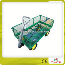 Moving Garden Cart With 4 Wheels TC1840